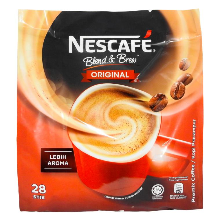 Nescafe - Blend & Brew Original 3 in 1 (28 Stick)