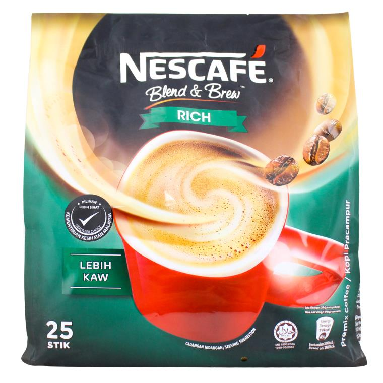 Nescafe - Blend & Brew Rich 3 in 1 (25 Stick)