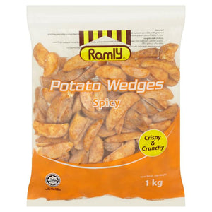 Ramly - Potato Wedges Spicy (1kg)