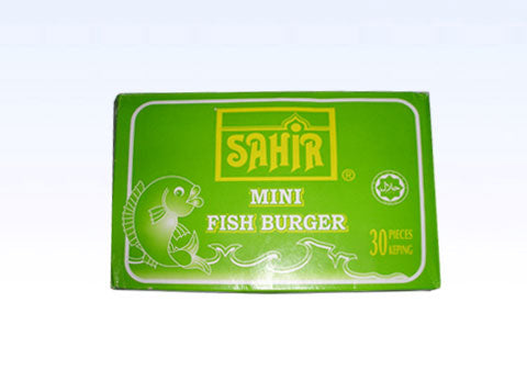 Sahir - Mini Fish Burger (30pcs)