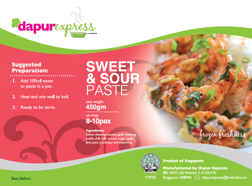 Dapur Express - Sweet and Sour (450g)