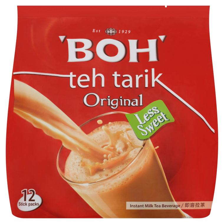 BOH - 3 in 1 Teh Tarik Instant Milk Tea Original (27G X 12 (324G)