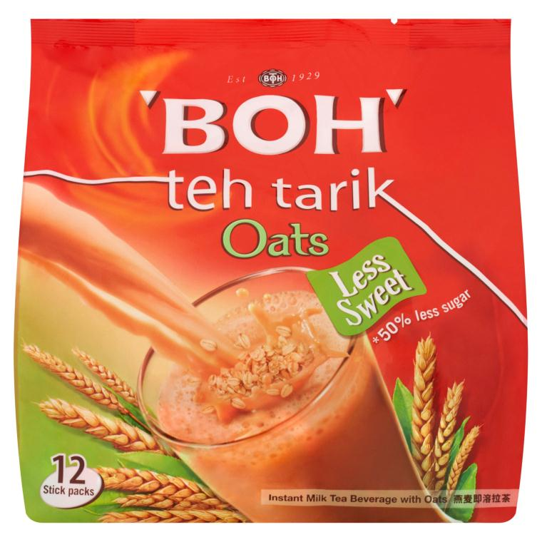 BOH - 3 in 1 Teh Tarik Instant Milk Tea with Oats (26g X 12 (312g)