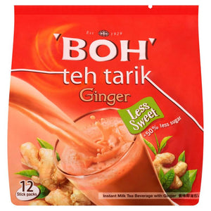 BOH - 3 in 1 Teh Tarik Instant Milk Tea Ginger (26g X 12 (312g)