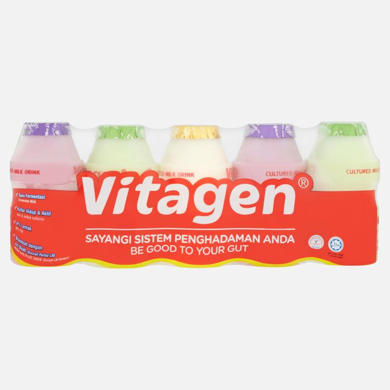 Vitagen - Cultured Milk Drink Assorted (5x 125ml)