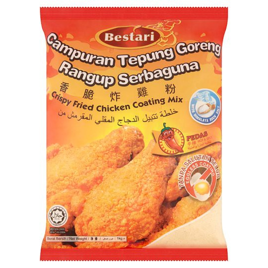 Bestari - Fried Chicken Coating Hot and Spicy (1000g)