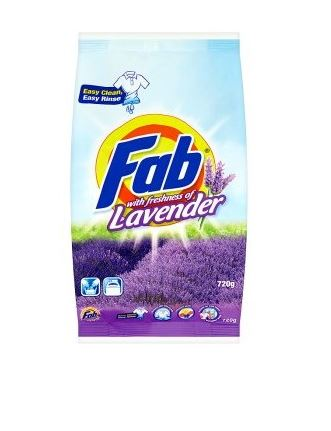 Fab - Laundry Powder Lavendar (720g)