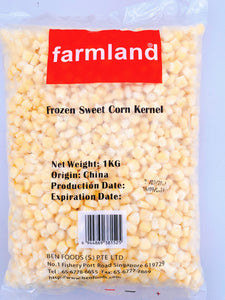 Farmland - Frozen Sweet Corn (1kg)