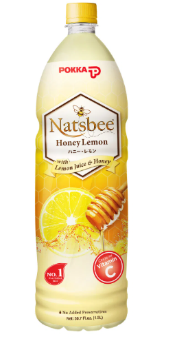 Pokka - Honey  Natsbee Lemon 1.5L