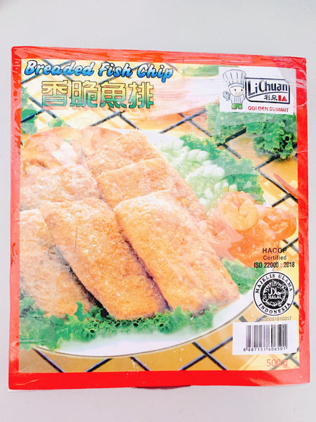Li Chuan - Breaded Fish Chip (500g)