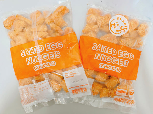 Promo - 2 packets x Salted Egg Chicken Nugget (1kg)