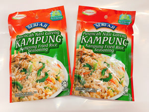 Promo - 2 packets x Seri Aji Fried Rice Seasoning Kampung Perencah Nasi Goreng Kampung (72g)