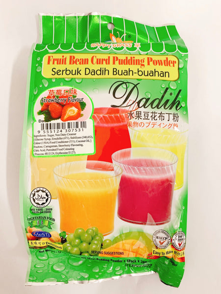 Happy Grass - Powder Serbuk Dadih Perisa Strawberry (360g)