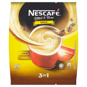 Nescafe - Blend & Brew Mild 3 in 1 (25 Stick)