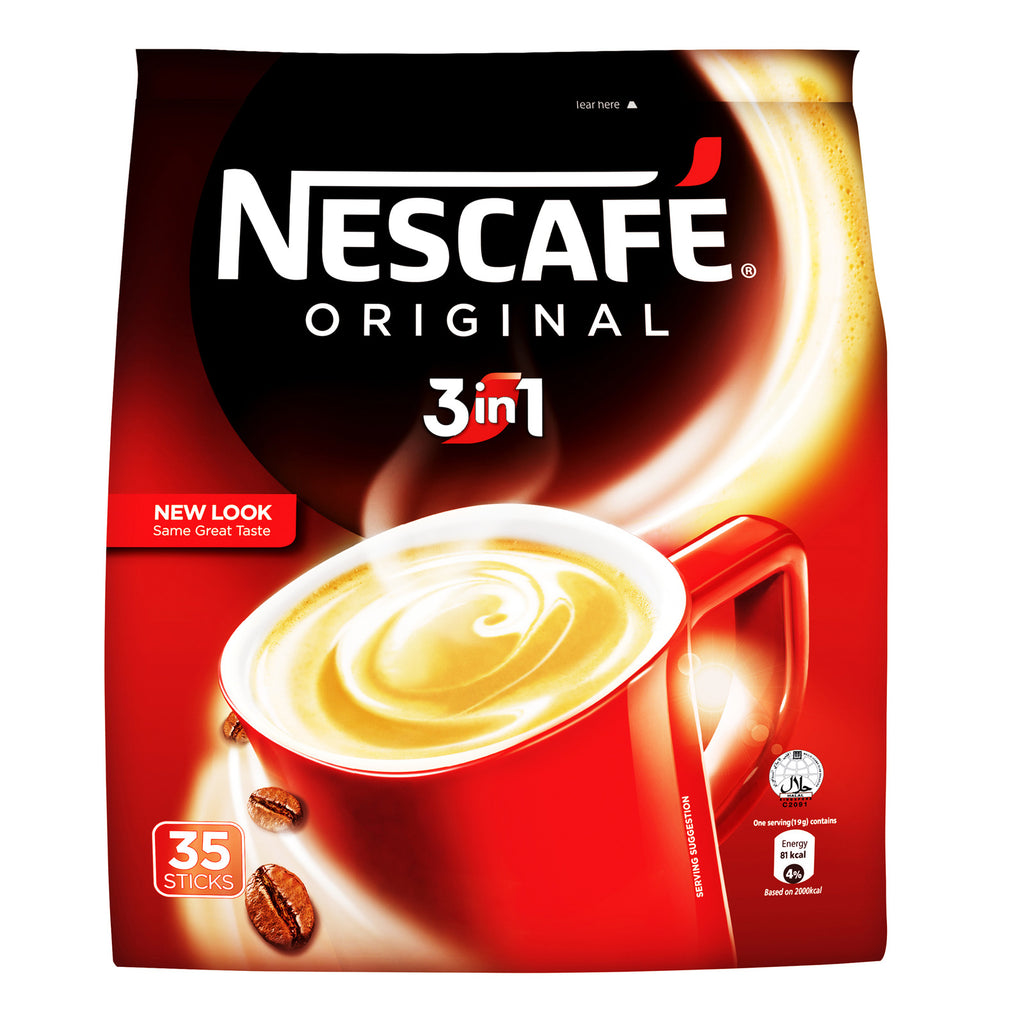 Nescafe - Original 3 In 1 (19gx35 Sticks)