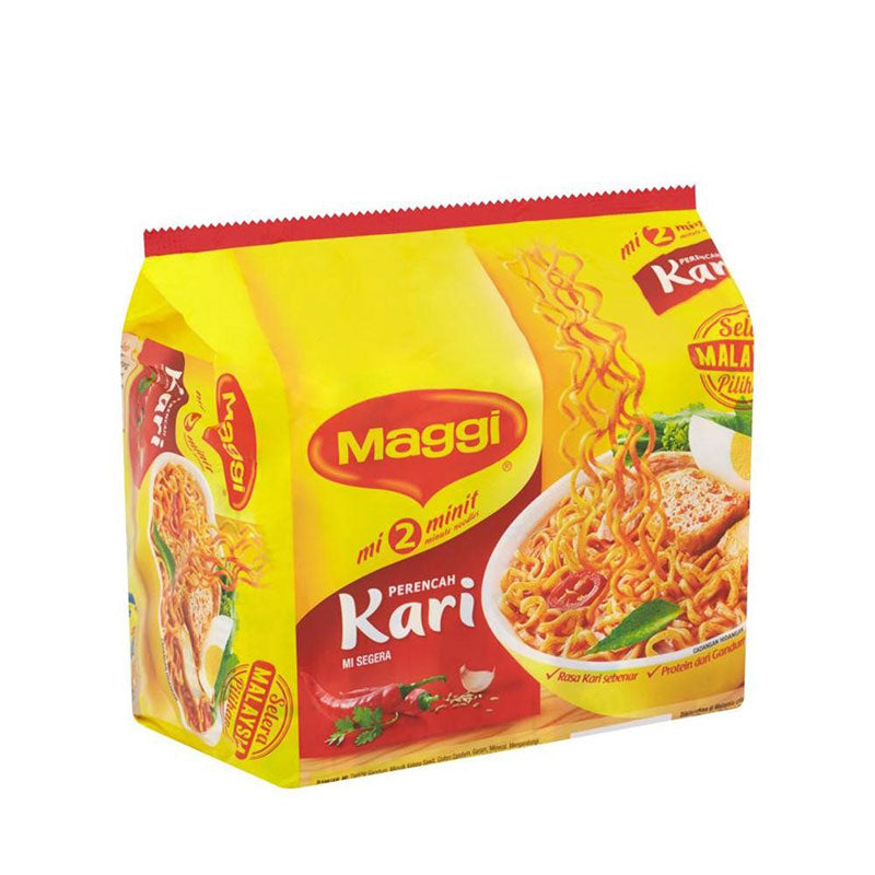 Maggi - Curry Noodles Kari (5x79g)