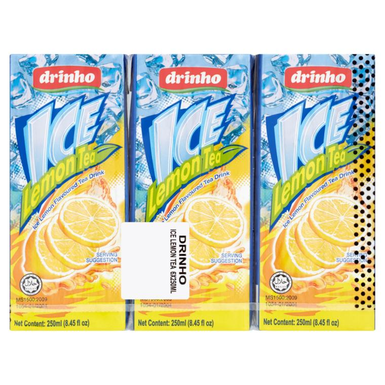 Drinho - Ice Lemon Tea (6x 250ml)