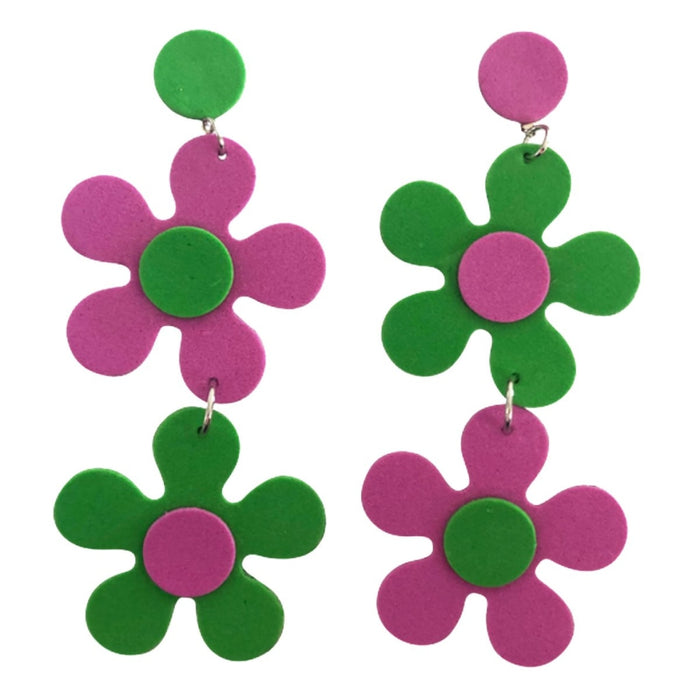 1968 Daisy Drop Earrings