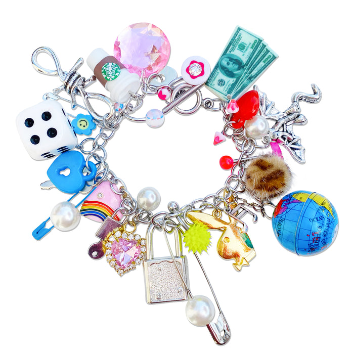 Around The World Charm Bracelet