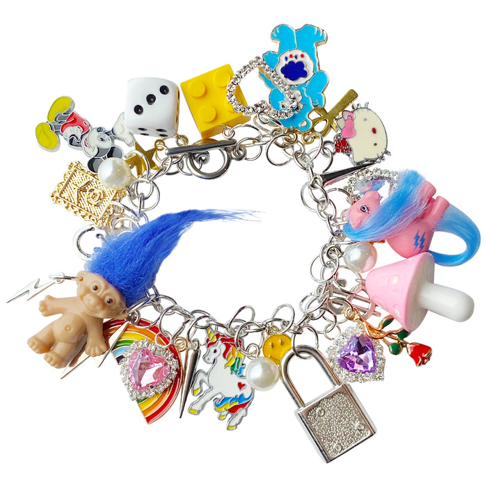My Little 80's Childhood Charm Bracelet