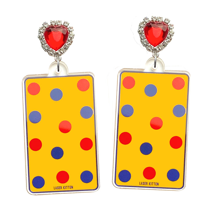Big Top Charm Earrings