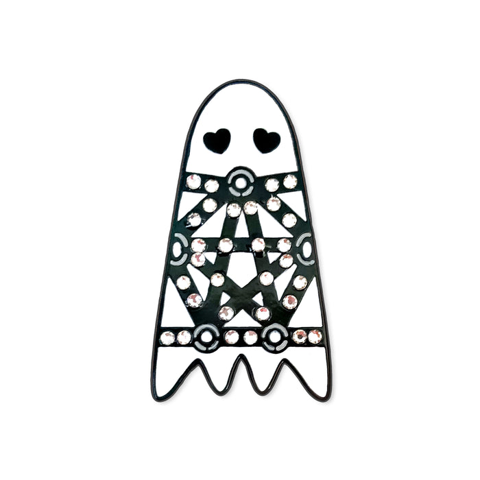 Bondage Ghost Pin-Laser Kitten (1397052670035)