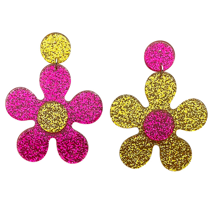 Carnaby Street Daisy Drop Earrings