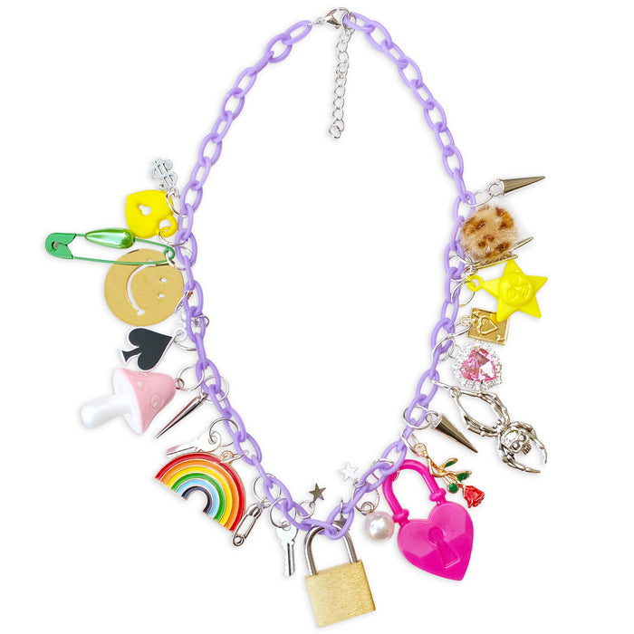 Lucky 27 Charm Necklace