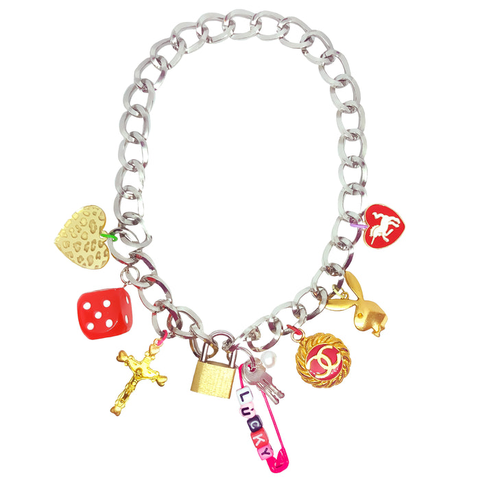 Lucky 11 Charm Necklace (4418918809683)