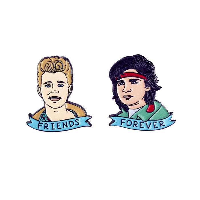 Friends Forever Pin Set - Laser Kitten