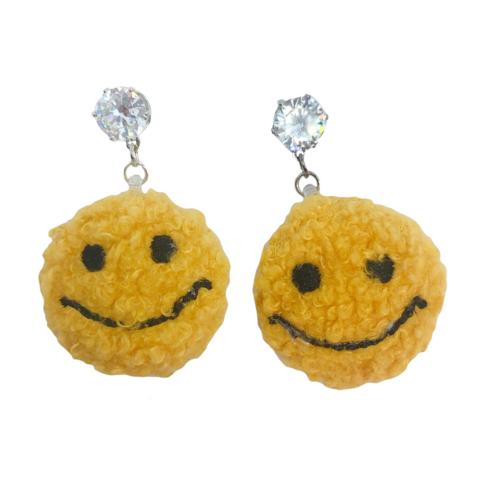 Fuzzy Bizness Charm Earrings (4419246522451)