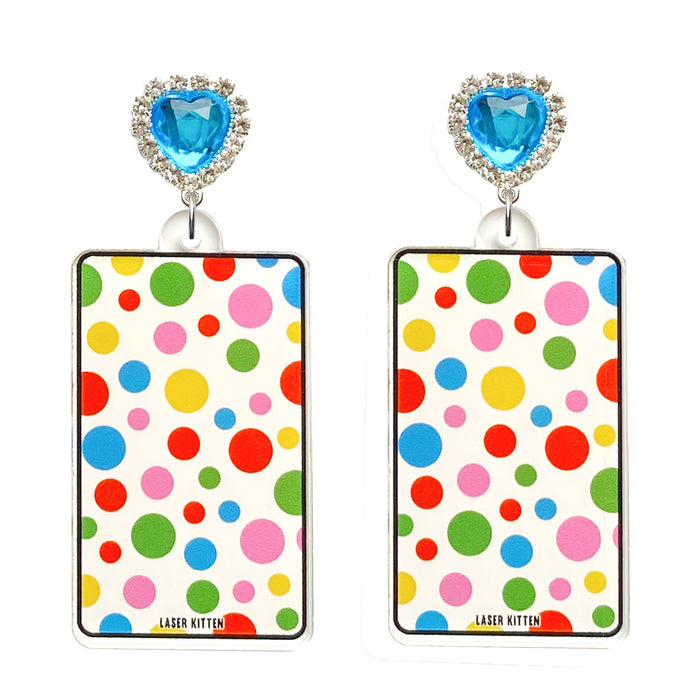 Fun House Charm Earrings