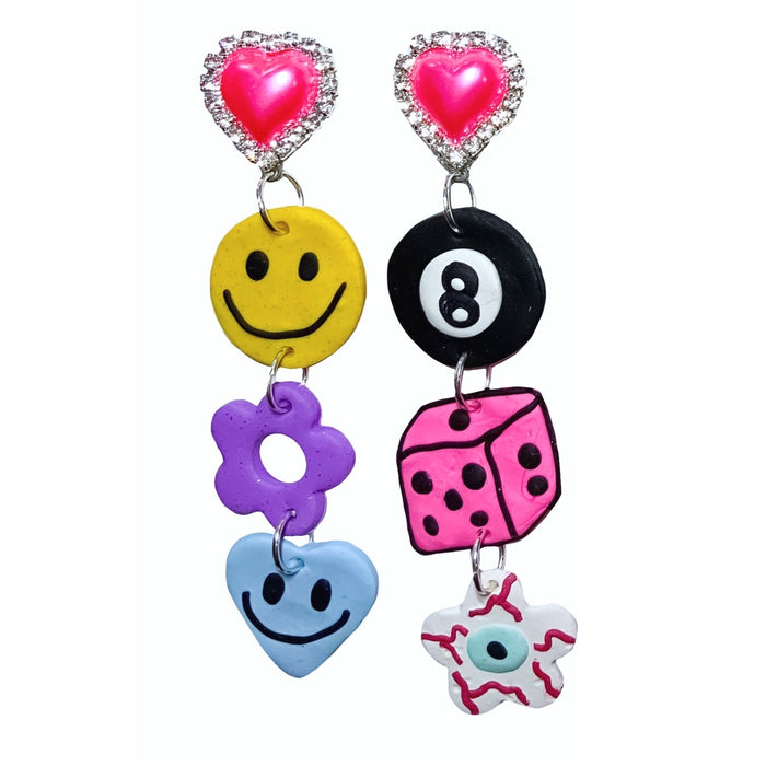 Let's Bounce 90's Earrings
