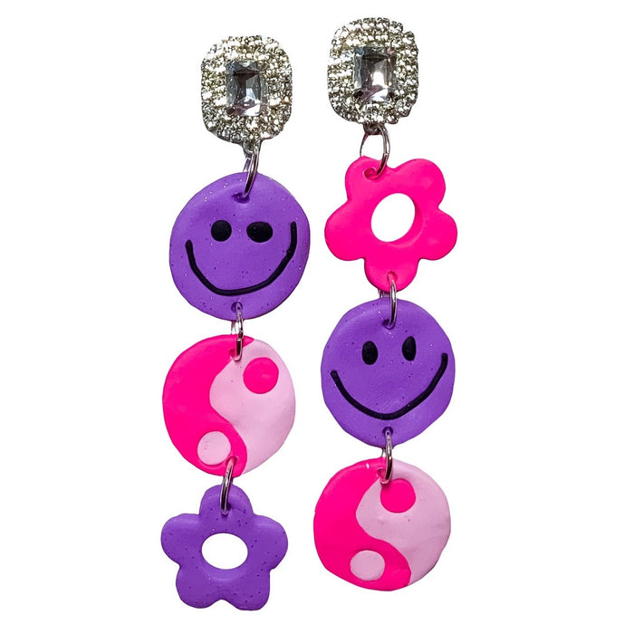 Bubblegum 90's Earrings