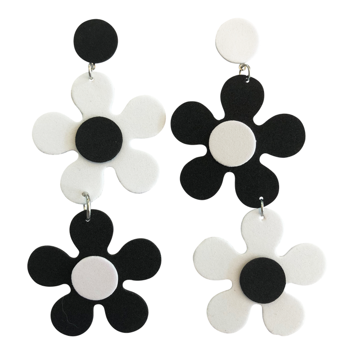 Stone FoXX Daisy Drop Earrings