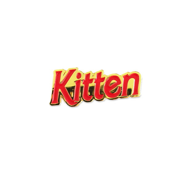 Kitten Club Pin