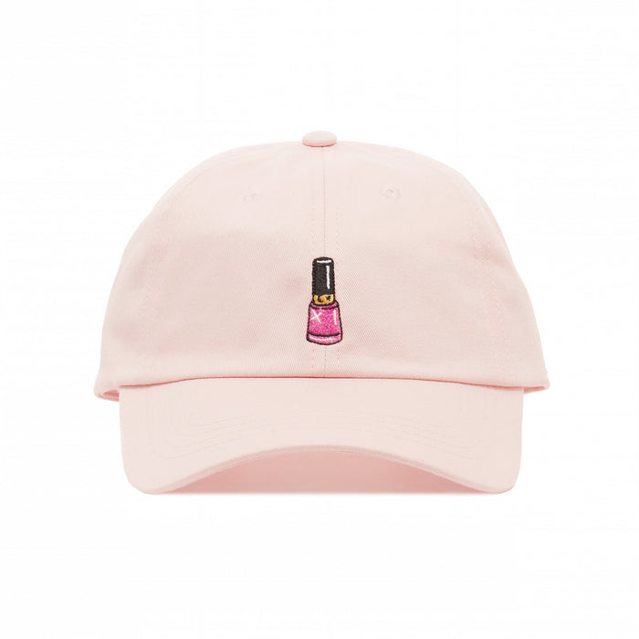 Nail Polish Dad Hat-Laser Kitten