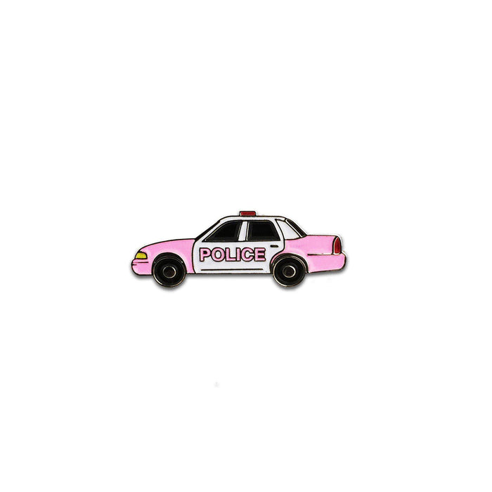 LK City Pink Cop Car Pin-Laser Kitten