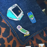 90's Cell Phone Pin