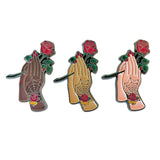 Smell The Roses Pin