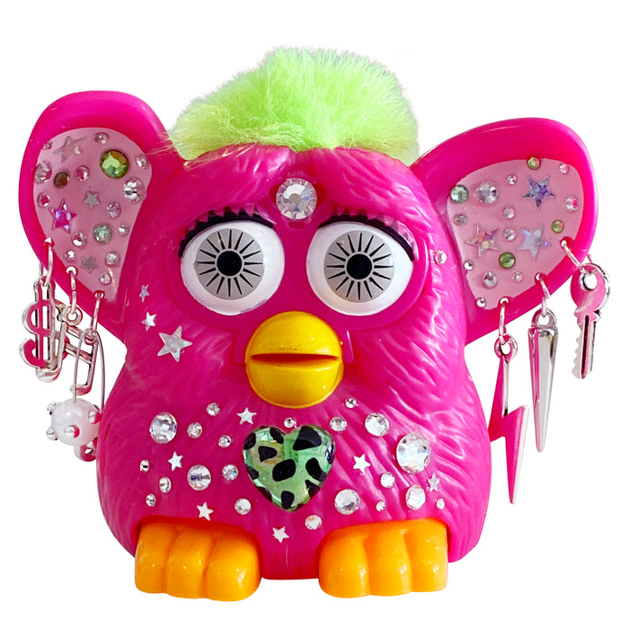 Pinky - Bedazzled 90's Furby