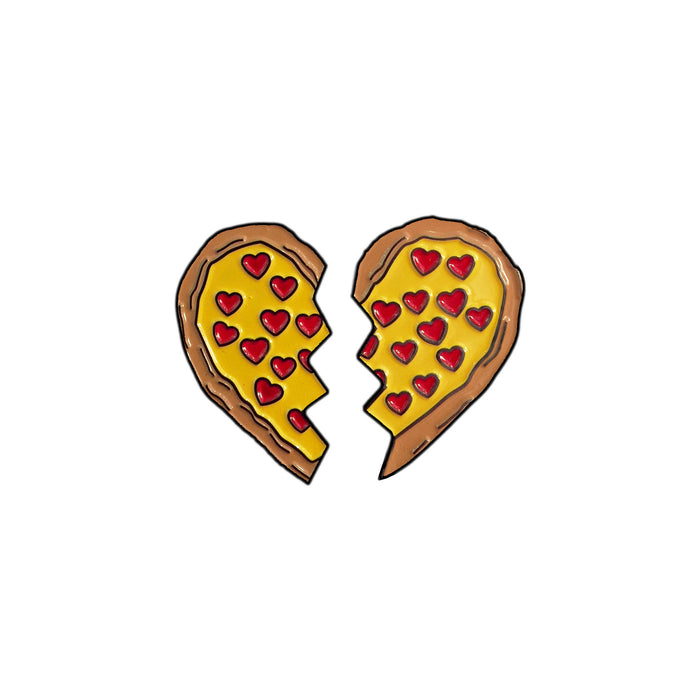 Pizza Besties Pin Set-Laser Kitten