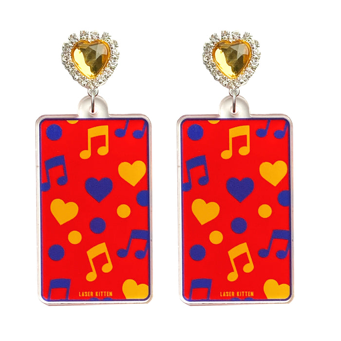 Merry-Go-Round Charm Earrings
