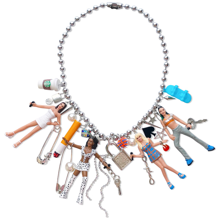 1998 Spice Girls Charm Necklace