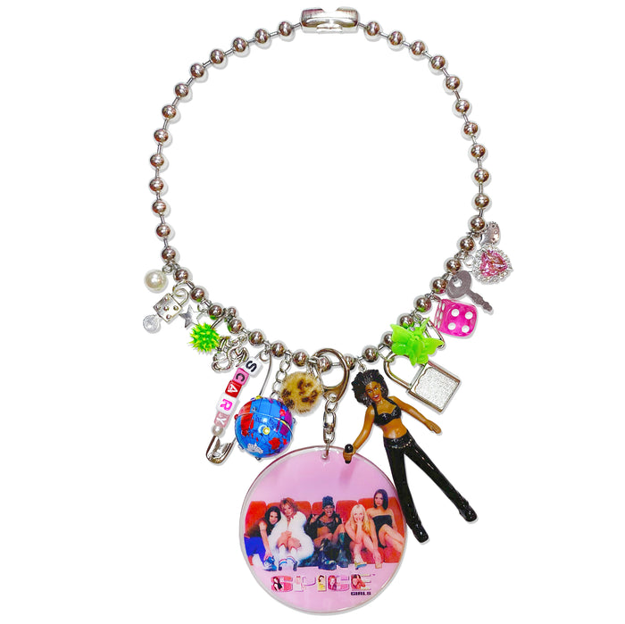 1998 Scary Spice Charm Necklace