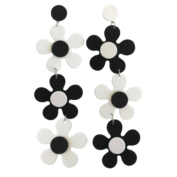 Stone FoXXX Daisy Drop Earrings