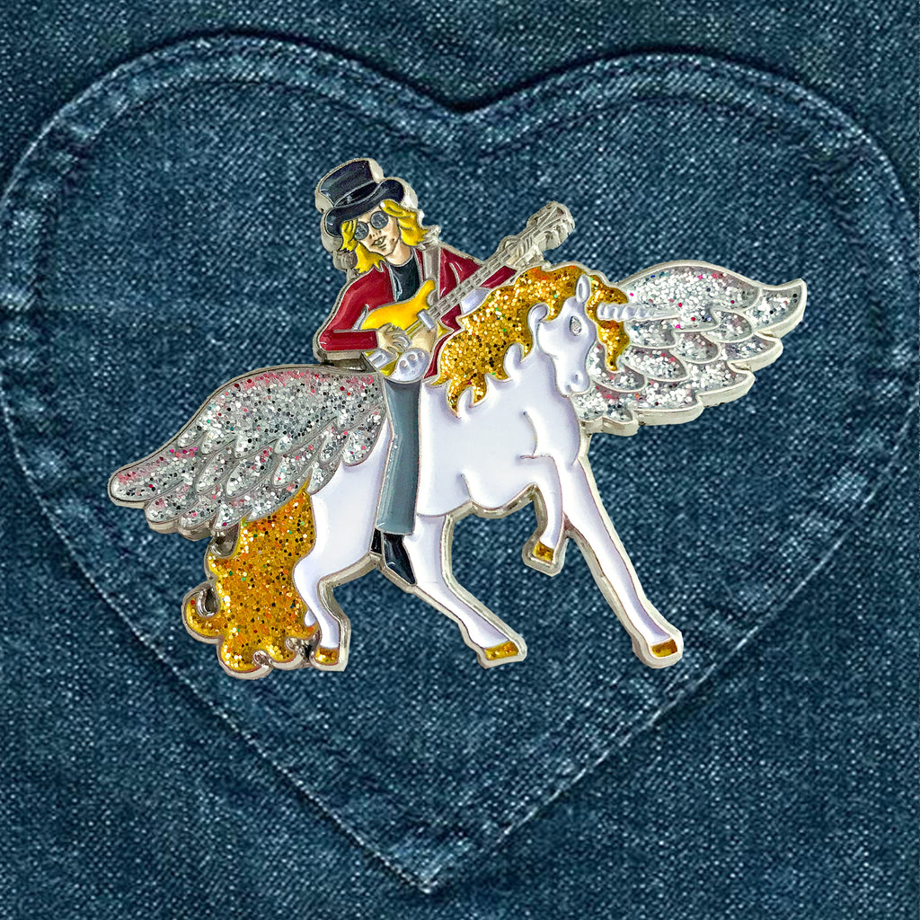 Free Fallin' Tribute Pin