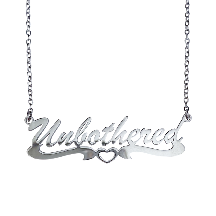 Unbothered Silver Necklace