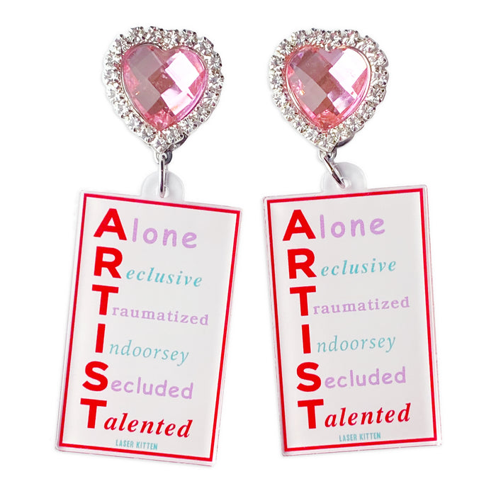 Talented Charm Earrings