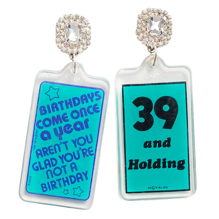 Birthday Girl 80's Charm Earrings